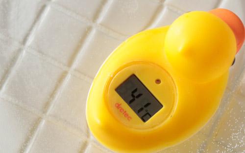 お風呂の温度って何度がいいの?